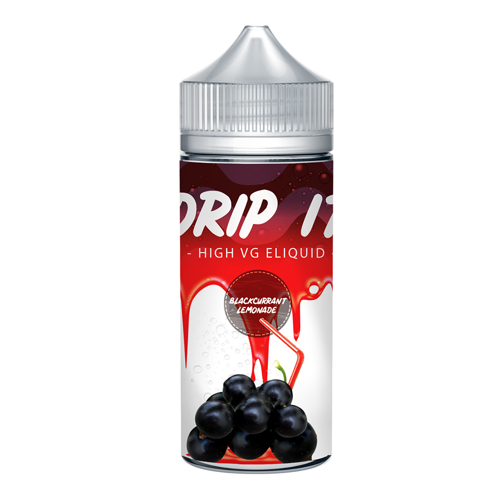 Drip It Blackcurrant Lemonade 0 nicotine e-Liquid 70/30 VG/PG 100ml