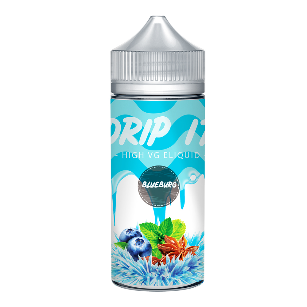 Drip It Blueberg 0 nicotine e-Liquid 70/30 VG/PG 100ml