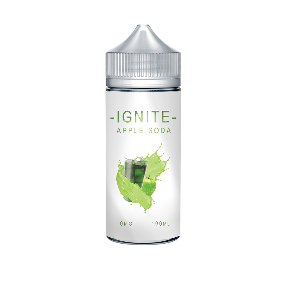 Ignite Apple Soda 0 nicotine e-Liquid 70/30 VG/PG 100ml
