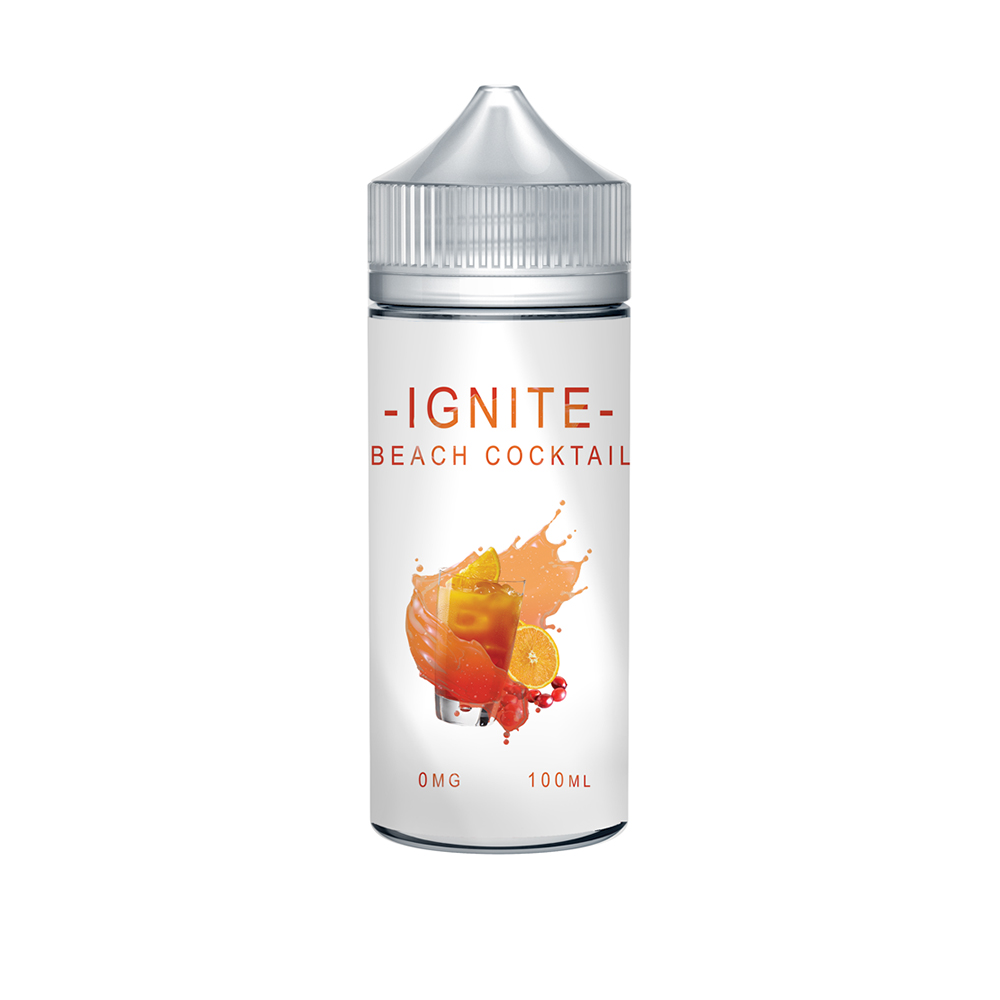 Ignite Beach Cocktail 0 nicotine e-Liquid 70/30 VG/PG 100ml