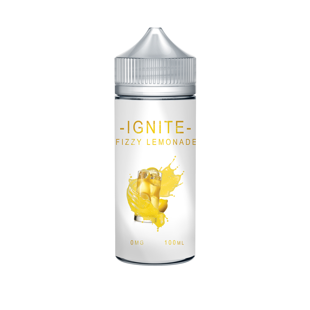 Ignite Fizzy Lemonade 0 nicotine e-Liquid 70/30 VG/PG 100ml