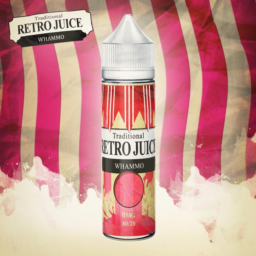 Retro Juice Whammo 0 nicotine e-Liquid 80/20 VG/PG 50ml