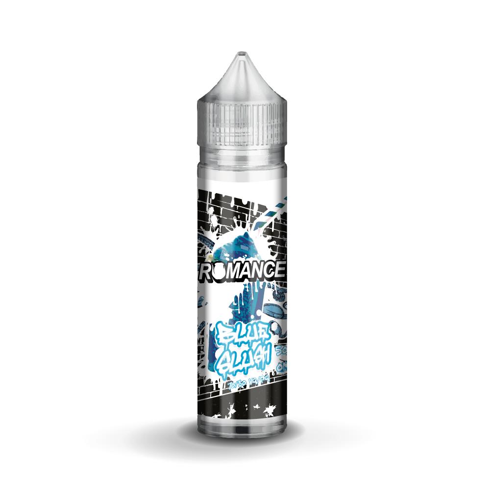 Romance Blue Slush 0 nicotine e-Liquid 70/30 VG/PG 50ml