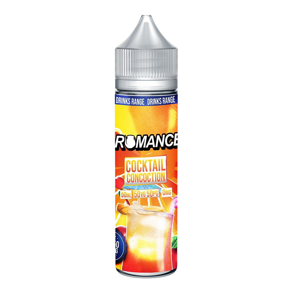Romance Cocktail Concoction 0 nicotine e-Liquid 50/50 VG/PG 50ml