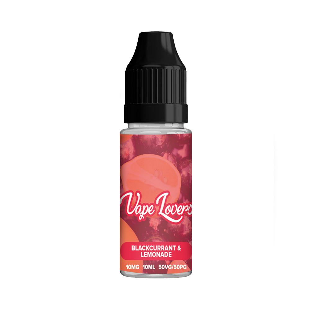 Vape Lovers Blackcurrant Lemonade Nicotine Salt 50/50 10ml